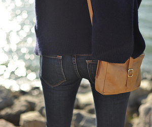 jeans and bag image