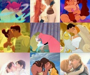 Besos, disney, and kiss image