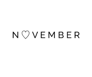 black and white, heart, and november image