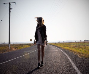 fashion, road, and summer image
