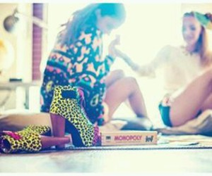 best friends, bff, and heels image