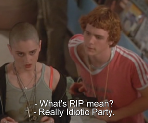 party, rip, and idiotic image