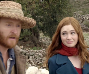doctor who, vincent, and karen gillan image