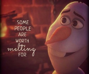 frozen, olaf, and people image
