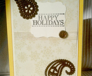 etsy, handmade cards, and yellow card image
