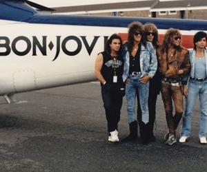 80s, band, and plane image