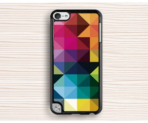 ipod touch 5 case, geometry touch 5 case, and girl's ipod 5 case image