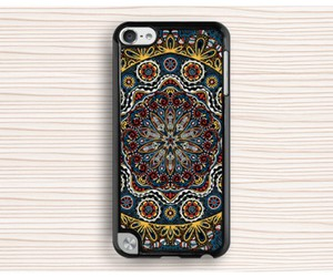ipod touch 4 case, touch 5 case, and mandala touch 4 case image