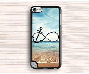 anchor ipod touch 4 case, anchor ipod 5 touch case, and seaside ipod case image