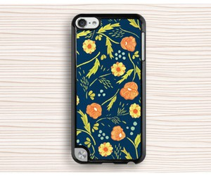 ipod touch 5 case, art touch 5 case, and floral ipod 4 case image