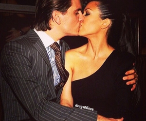 couple, life, and kourtney kardashian image