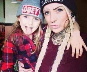 beautiful, obey, and tattoo image