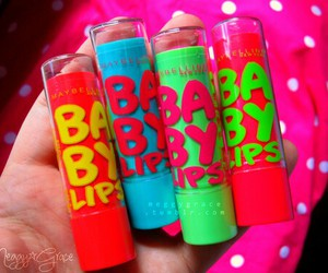 baby lips, makeup, and lip balm image