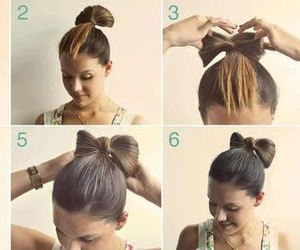 bun, step by step, and cute image