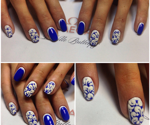 nail art, nails, and маникюр image