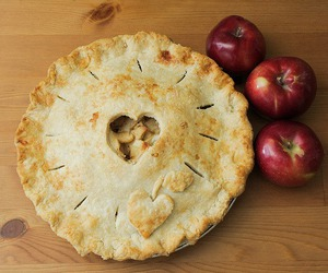 apple, food, and heart image