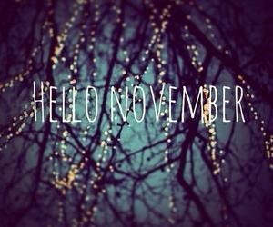 november, hello, and hello november image
