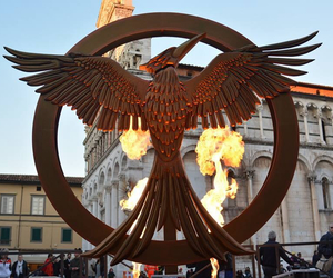 italy, Jennifer Lawrence, and hunger games image