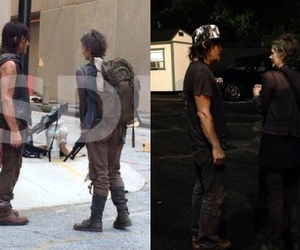 norman reedus, the walking dead, and melissa mcbride image