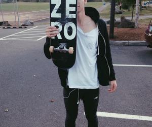 boy, zero, and skateboard image