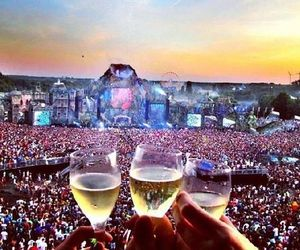 party, Tomorrowland, and drink image