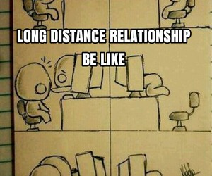 long distance, love quote, and love thing image