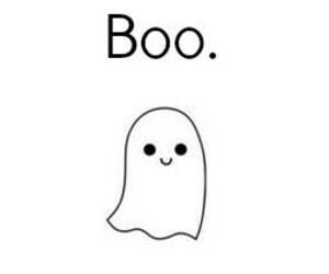 boo, Halloween, and ghost image