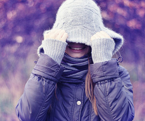 beautiful, cold, and girl image