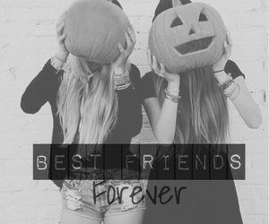 best friends and girl image