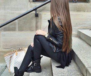hair, fashion, and girl image