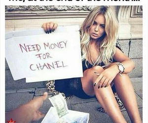 chanel and money image