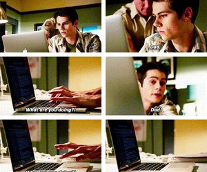teen wolf, dad, and funny image