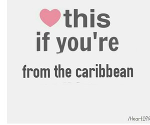 Caribbean and love image