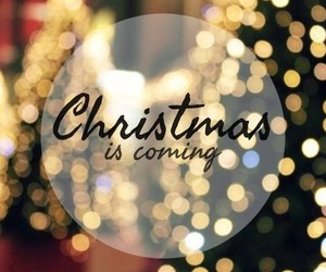 christmas, winter, and coming image