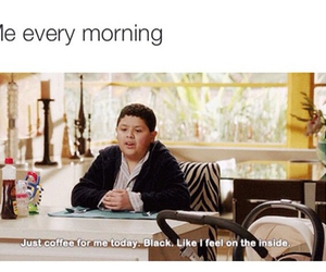 coffee, funny, and mornings image