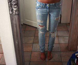 jeans, annika-o, and rip image