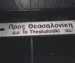 thessaloniki and greek image