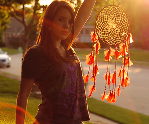 dreamcatcher, fashion, and girl image