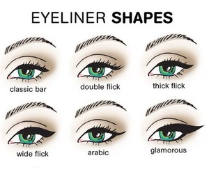 eyeliner, makeup, and make up image