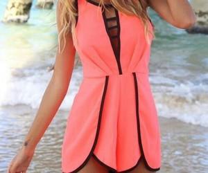 fashion, dress, and pink image