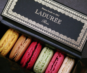 laduree, food, and macarons image