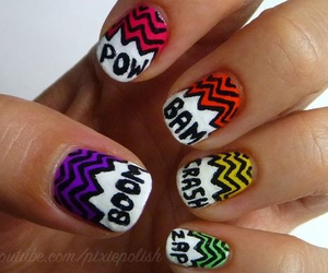 boom, colorful, and nails image