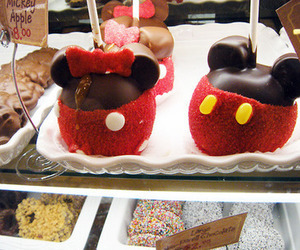 chocolate, apple, and cute image
