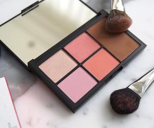 Brushes, makeup, and blush image
