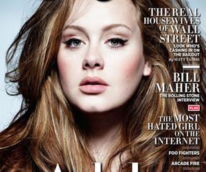 Adele, rolling stone, and magazine image