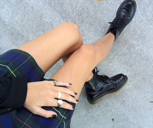 grunge, black, and skirt image