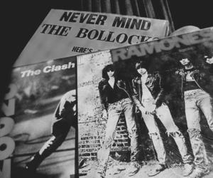 the clash, ramones, and sex pistols image