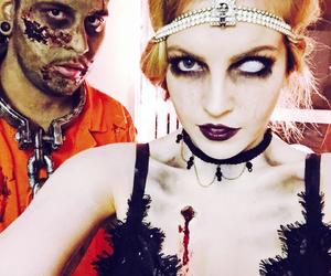 Halloween, costume, and makeup image