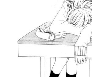 anime, uniform, and drawing image