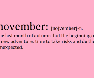 adventure, november, and pink image